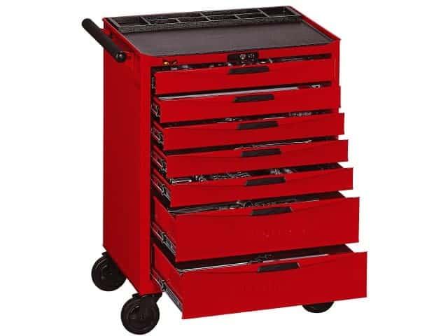 Teng Tools værkstedsvogn TCMM491N med 491 dele værktøj