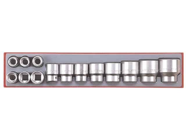 """Teng Tools topnøglesæt 3/4"""" TTX3414 med 14 toppe 19-50mm"""